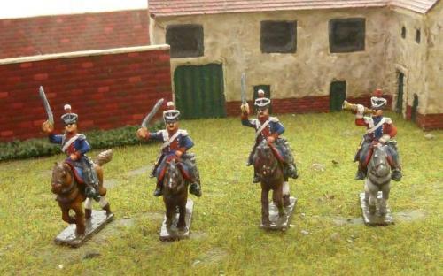 15mm Napoleonic British 16th Light Dragoons
