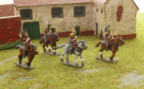 15mm Napoleonic British 1st Dragoons