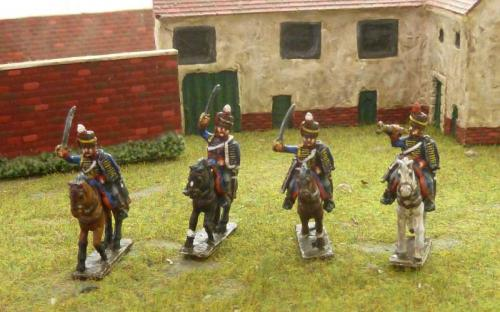 15mm Napoleonic British 1st KGL Hussars