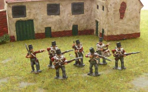 15mm Napoleonic British 32nd line infantry