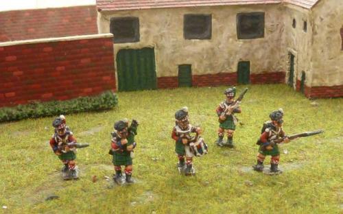 15mm Napoleonic British 42nd Highlanders