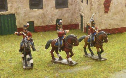 15mm Napoleonic British Colonels