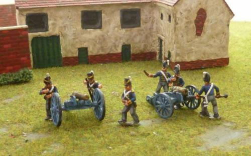15mm Napoleonic British Foot and Horse artillery