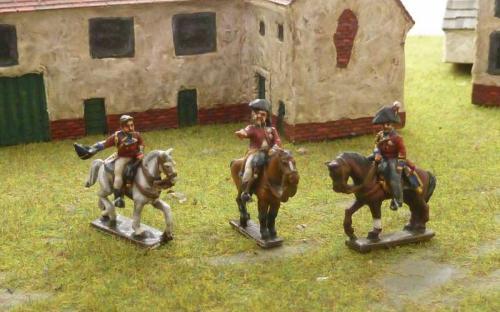 15mm Napoleonic British Generals