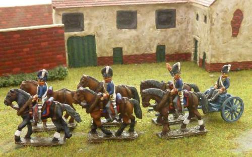 15mm Napoleonic British Limber
