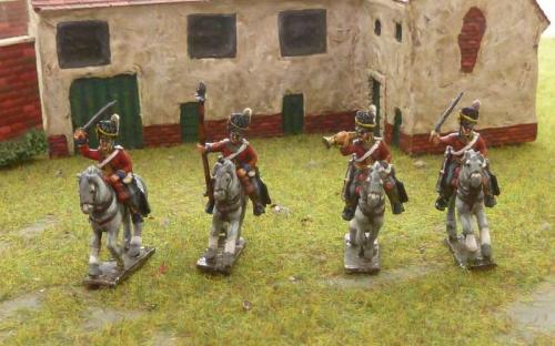 15mm Napoleonic British Scots Greys