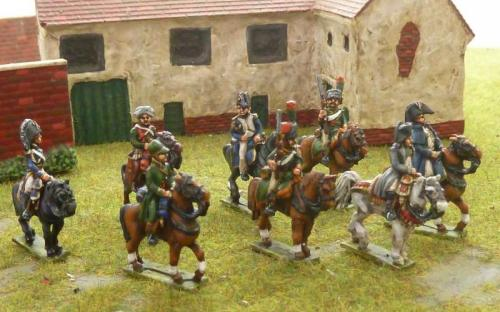 15mm Napoleonic French Generals, ADCs, Staff and Generals