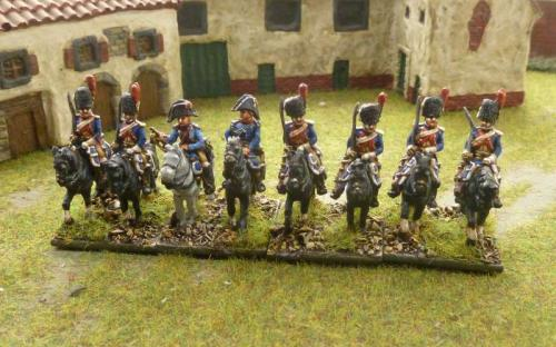 15mm Napoleonic French Imperial Guard Heavies