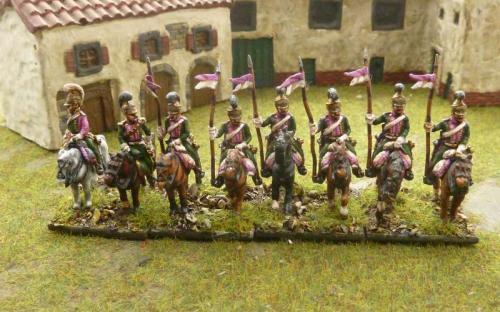 15mm Napoleonic French Lancers