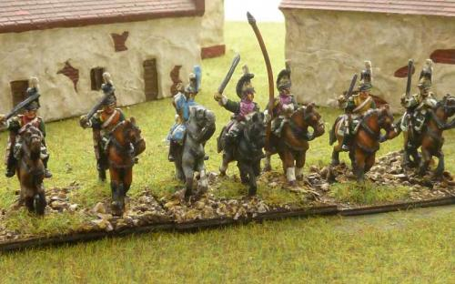 15mm Napoleonic Italian Dragoons