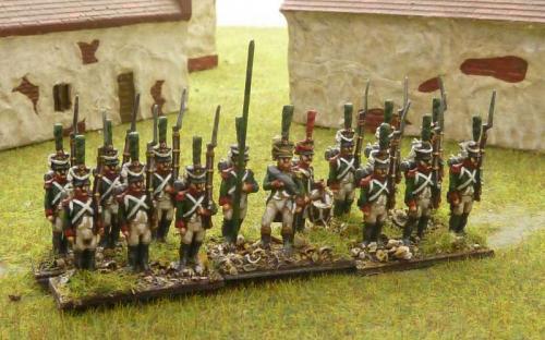 15mm Napoleonic Italian Guard Chasseurs