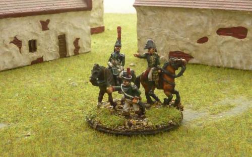 15mm Napoleonic Italian Guard Command
