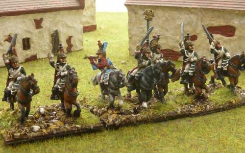15mm Napoleonic Italian Guard Dragoons
