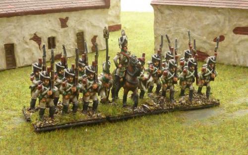 15mm Napoleonic Italian Velite Grenadiers