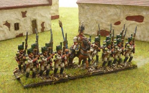 15mm Napoleonic Neopolitan Velite Grenadiers