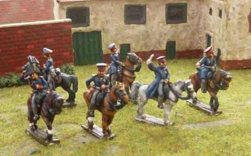 15mm Napoleonic Prussian Generals