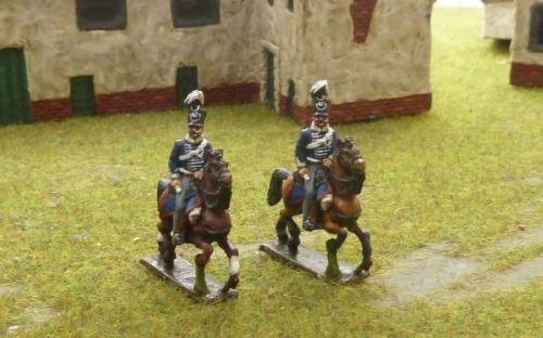 15mm Napoleonic Prussian Hussars