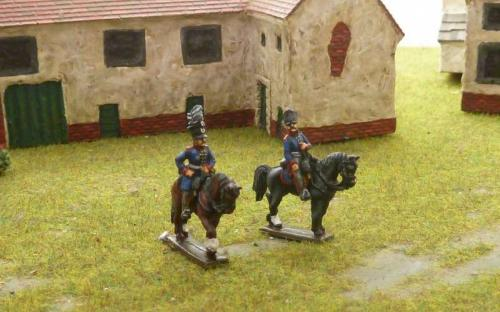 15mm Napoleonic Prussian officers