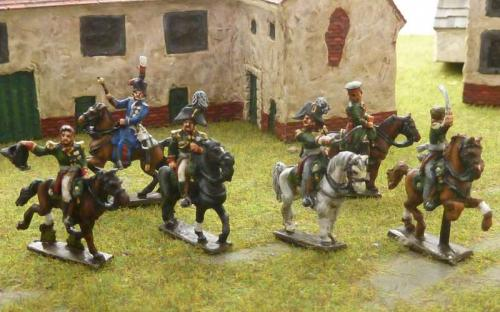 15mm Napoleonic Russian Generals