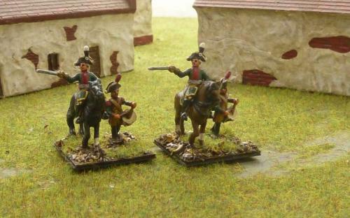 15mm Napoleonic Saxon Artillery command