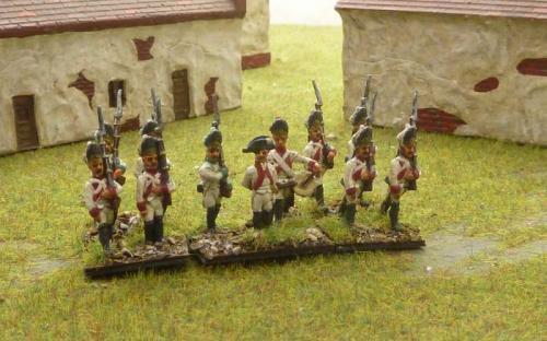15mm Napoleonic Saxon Grenadiers