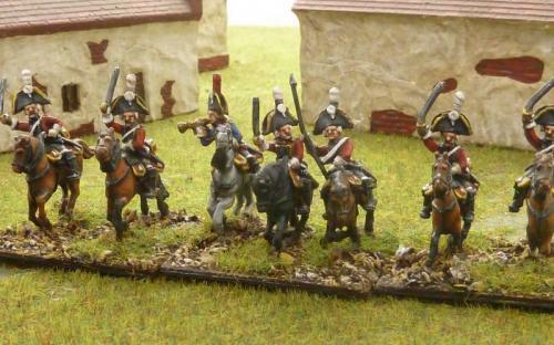 15mm Napoleonic Saxon Johan Chevealierjaever