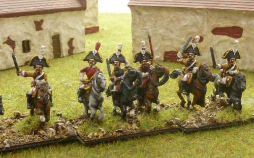15mm Napoleonic Saxon Lieb Kuirassier