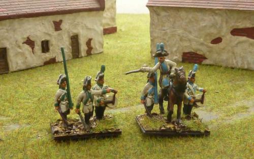15mm Napoleonic Saxon Musketeers