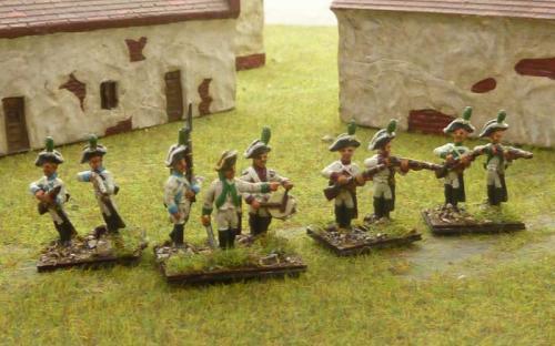 15mm Napoleonic Saxon Scheutaen
