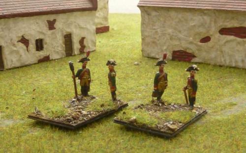 15mm Napoleonic Saxon gunners