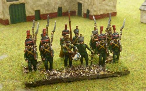 15mm Nassau 2nd infantry