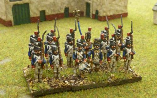 15mm Old Guard Chasseurs
