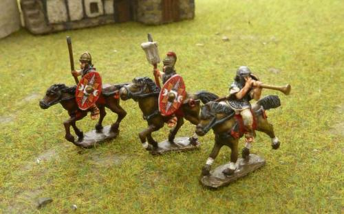 15mm Roman Cavalry