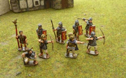 15mm Roman Legionaries and archers