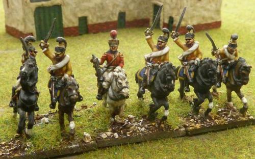15mm Saxon Guard du Corps