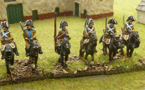 15mm Spanish Almanansa Dragoons