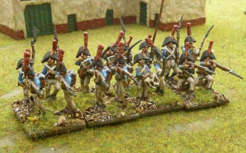 15mm Spanish Regiment Irlandaise