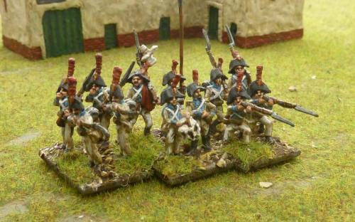 15mm Spanish line infantry