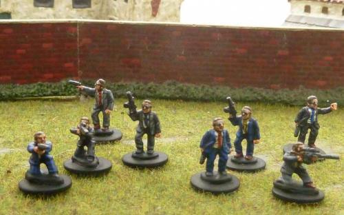 15mm armed men in suits