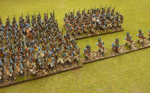 Bavarian 1st, 4th, 13th Line and 1st skirmishers