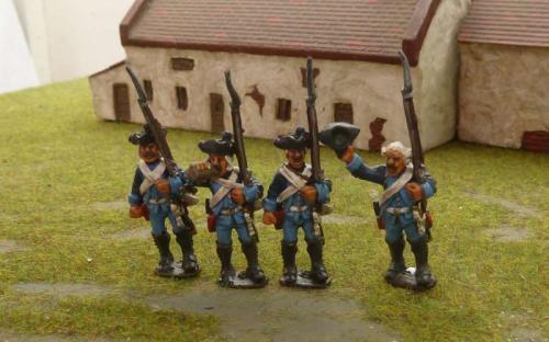 28m 7YW Frei Corps skirmishers