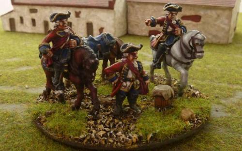 28mm 7YW British Generals