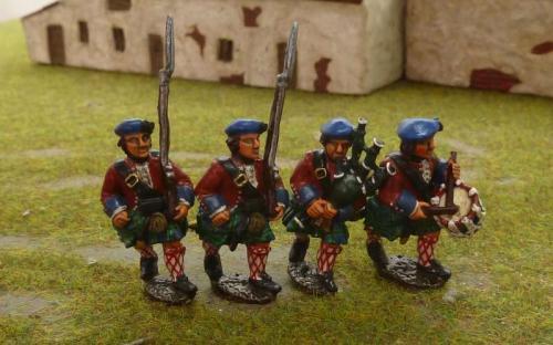 28mm 7YW British Highlanders