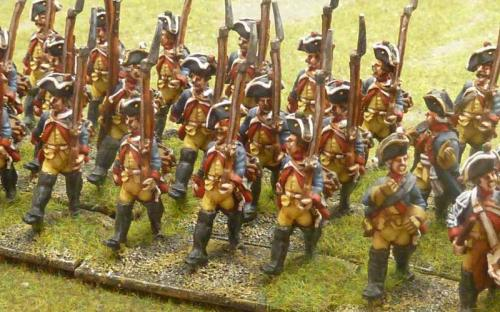 28mm 7YW Prussian 2nd Musketeers (Sash and Sabre figures)