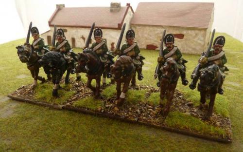28mm 7YW Prussian von Kleist Horse Grenadiers