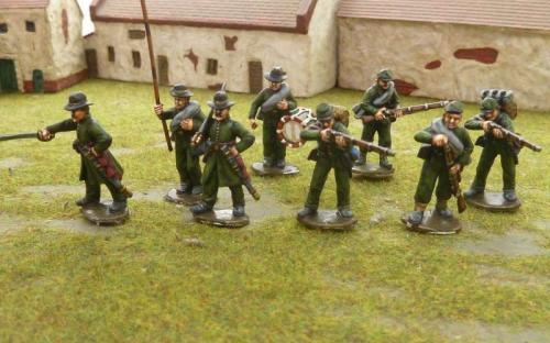 28mm ACW Riflemen