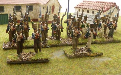 28mm French infantry
