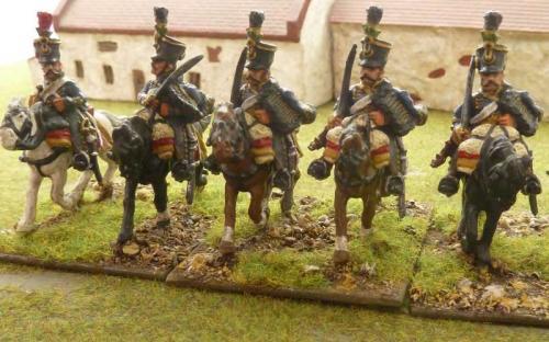 28mm Napoleonic Austrian 1st Hussars