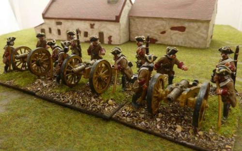 28mm Napoleonic Austrian Artillery
