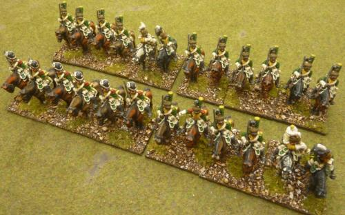 28mm Napoleonic French 20th Dragoons (FR)